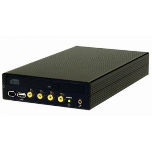 IS8645TD Front (Dual Display, DVR)