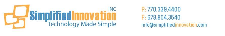 Simplified Innovation